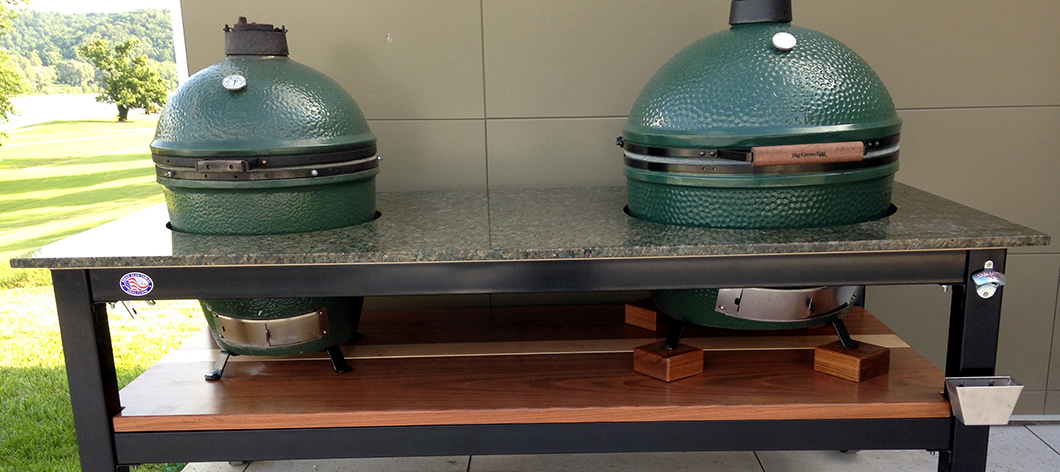 Xl Green Egg Table Plans Table Gallery | Brian Alan Tables