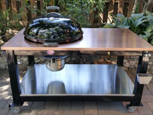 Custom Tables for Weber Kettle Grills